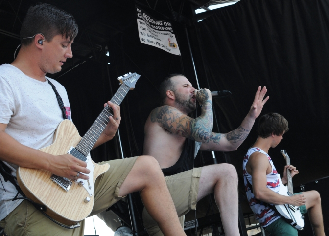August Burns Red Warped Tour