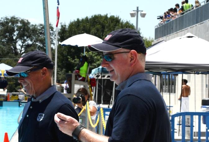 USA Swimming Coaching Staff (Photo, Kristian Jaime Photography)