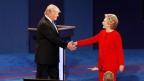 Clinton, Trump finally face off in Debate